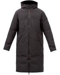 Nobis Manteau réversible en duvet à capuche Wayland - Noir