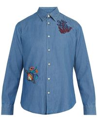 Paul Smith - Dreamer Cotton Blend Shirt - Lyst