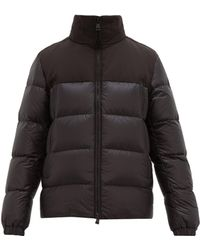 e78f3a1d8 Faiveley Embossed Logo Quilted Down Coat - Black