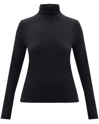 Wolford - Roll-neck Jersey Top - Lyst
