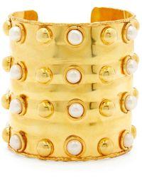 Sylvia Toledano Massaï Iii Pearl Cuff - Metallic