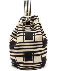 Guanabana Tula Arish Geometric-woven Backpack - Multicolour
