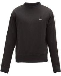 AMI - Logo-appliqué Jersey Sweatshirt - Lyst