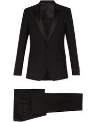 Dolce & Gabbana Peak Lapel Tuxedo - Black