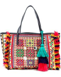 Figue - Fara Embroidered Tote - Lyst