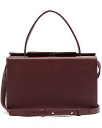 Tsatsas 931 Grained-leather Bag - Multicolour