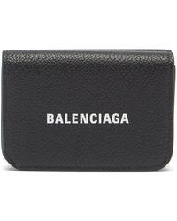 Balenciaga グレインレザー バイフォールドウォレット - マルチカラー