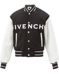 Givenchy ウールブレンド スタジアムジャンパー - ブラック