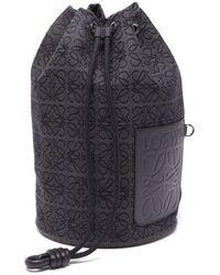 Loewe セーラー ラージ キャンバスバケットバッグ - マルチカラー