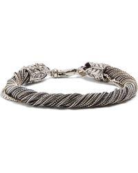 Emanuele Bicocchi | Twisted Sterling-silver Bracelet | Lyst