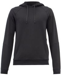 lululemon athletica City Sweat French-terry Hooded Sweatshirt - Black