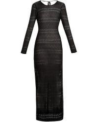 Melissa Odabash - Melissa Scoop Back Pointelle Knit Maxi Dress - Lyst