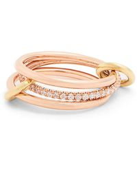 Spinelli Kilcollin - Sonny Diamond, Yellow & Rose-gold Ring - Lyst