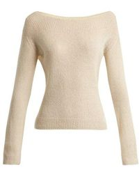 Brock Collection - Kolbie Cashmere And Silk-blend Fine-knit Jumper - Lyst