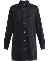 Ganni - Kress Cotton Shirtdress - Lyst