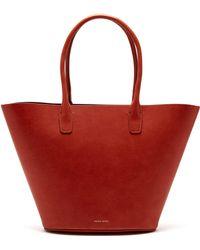 Mansur Gavriel - Triangle Leather Tote - Lyst
