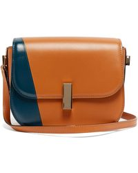 Valextra Iside Cross-body Leather Bag - Brown
