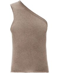 Extreme Cashmere No.108 カシミアブレンドセーター - ブラウン