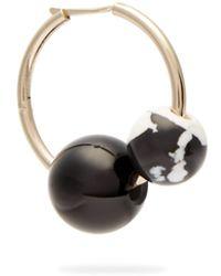 Proenza Schouler - Cluster Beaded Hoop Single Earring - Lyst