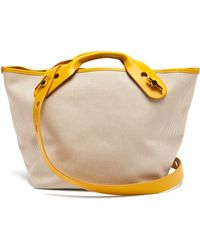 Sophie Hulme - Bolt Canvas Tote Bag - Lyst