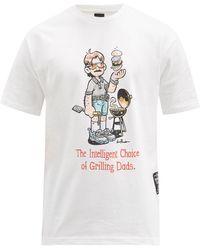 New Balance リーバイツォ ロゴ コットンtシャツ - ホワイト