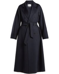 Max Mara Bondon Coat - Blue
