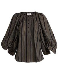 Apiece Apart - Everlasting Striped Blouse - Lyst