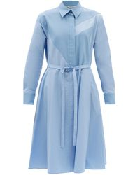 Stella McCartney - ミア コットンポプリンシャツドレス - Lyst