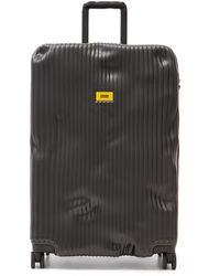 Crash Baggage Stripe スーツケース 79cm - ブラック