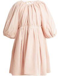 Cecile Bahnsen - Ava Velvet Mini Dress - Lyst