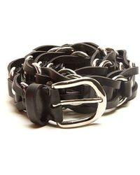 Isabel Marant - - Links Leather Belt - Womens - Black - Lyst