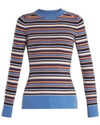 JoosTricot - Crew Neck Long Sleeved Knit Jumper - Lyst