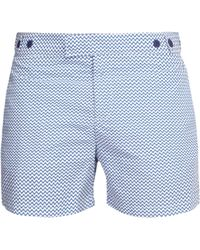 Frescobol Carioca Copacabana Tailored Swim Shorts - Blue
