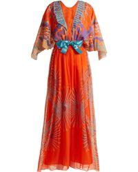 Zandra Rhodes Archive Ii The 1978 Mexican Mountain Gown - Multicolour