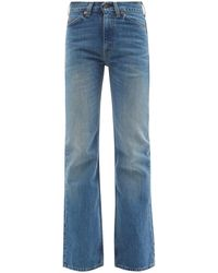 Valentino X Levi's 517 Upcycled Bootcut Jeans - Blue
