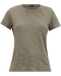 ATM Schoolboy Slubbed-cotton T-shirt - Multicolour