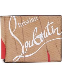 Christian Louboutin - Kraft Kios Leather Wallet - Lyst