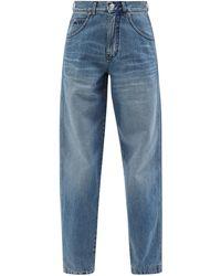 Victoria Beckham Diana Straight-leg Jeans - Blue