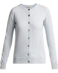 CONNOLLY - Fine Knit Cashmere Cardigan - Lyst