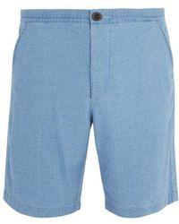 Oliver Spencer - Kildale Mid-rise Cotton Shorts - Lyst
