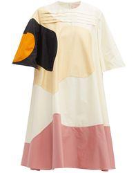 ROKSANDA Shayla パッチワーク Tシャツドレス - マルチカラー