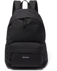 Balenciaga エクスプローラー ナイロンバックパック - ブラック