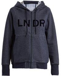 LNDR - Synergy Zip-through Hooded Sweatshirt - Lyst