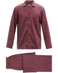 CDLP Satin Pajama Set - Multicolor