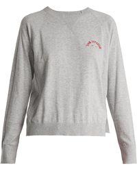 The Upside - Wilder Cotton-jersey Sweatshirt - Lyst