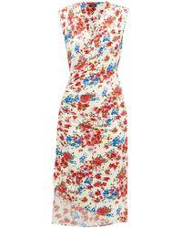 Atlein - フローラル ストレッチジャージー ドレス - Lyst