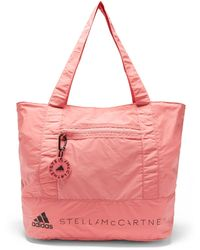 adidas By Stella McCartney Asmc Recycled Fibre-blend Tote Bag - Pink
