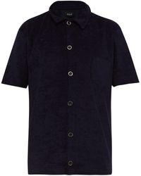 Howlin' Light Flight French-terry Polo Shirt - Blue