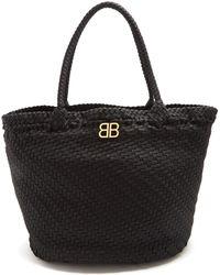 Balenciaga - Shoelace Tote Bag - Lyst