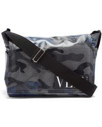 Valentino - Camouflage-print Messenger Bag - Lyst